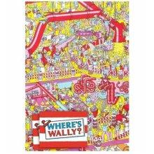 Wheres Wally gift wrap