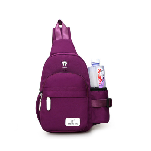 (Dark purple) Women's Outdoor Sports Shoulder Bag
