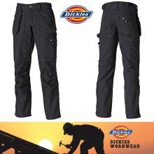 DICKIES EISENHOWER EH26000 Ladies Workwear Combat Trousers in Black