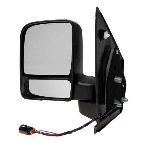 Ford Transit Connect 2002-2009 Electric Black Wing Door Mirror Passenger Side