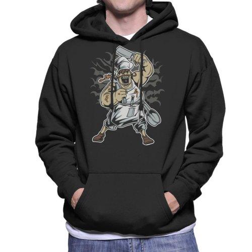 Scary Chef Men's Hooded Sweatshirt