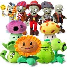 PLANTS vs ZOMBIES Plush Doll Toy Kids Gift