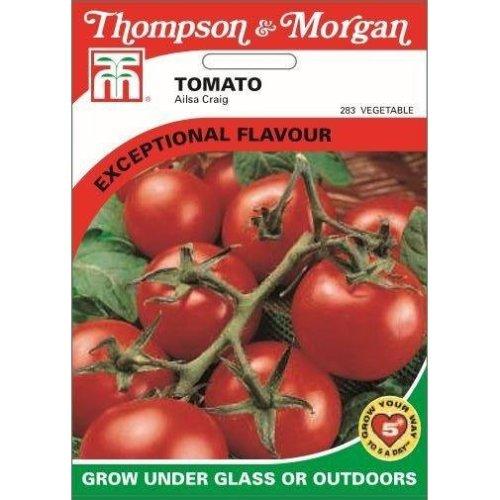 Thompson & Morgan - Vegetables - Tomato Ailsa Craig - 75 Seed