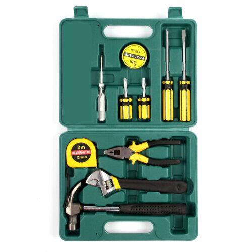 10pc Household Hand Tool Selection Kit