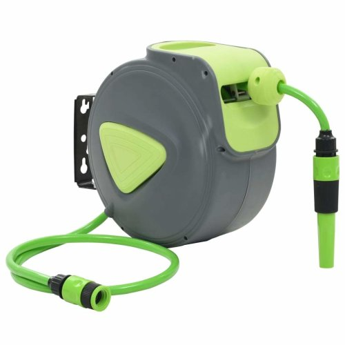 Automatic Retractable Water Hose Reel Wall Mounted 10+1 m