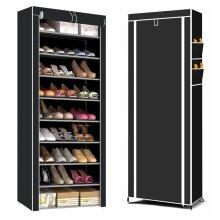 9-Tier Shoe Cabinet & Organiser   Dustproof Shoe Rack