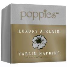 Poppies Luxury Airlaid Tablin Napkins - 1x500
