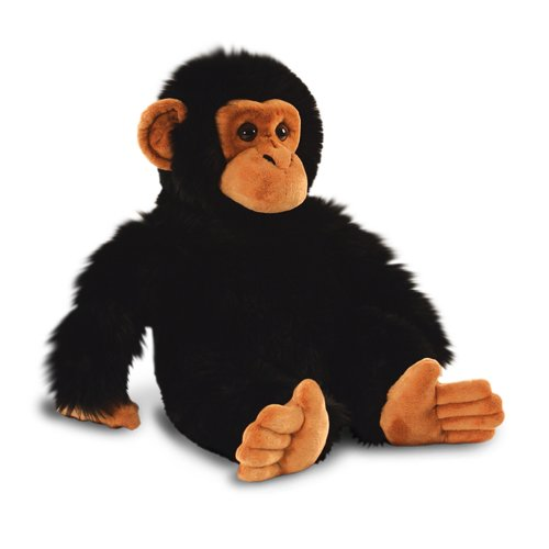 30cm Chimp Soft Plush Toy - Keel Chimpanzee Toys Monkey Sw3647 Wild Cuddly -  chimp toy keel chimpanzee soft toys plush 30cm monkey sw3647 wild cuddly