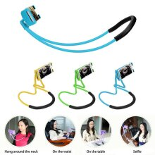 Universal 360 Flexible Lazy Neck Hanging Bed Mobile Phone Holder Mount Stand