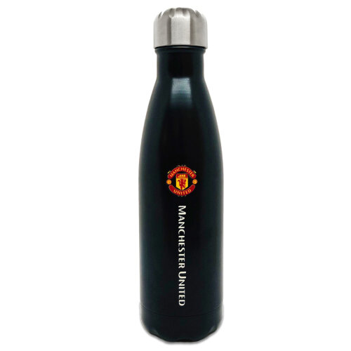 Manchester United Flask Water Bottle Thermal Hot Cold Drinks 500ml OFFICIAL