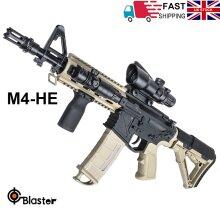 HE-M4 Gel Ball Blaster Shooter Toy Darts Gun Water Beads Mag-fed