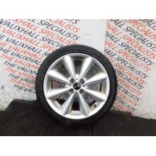 Mini Hatch Cooper D 06-13 Single Alloy Wheel + Tyre 17 Inch 6791945 Vs7400 - Used