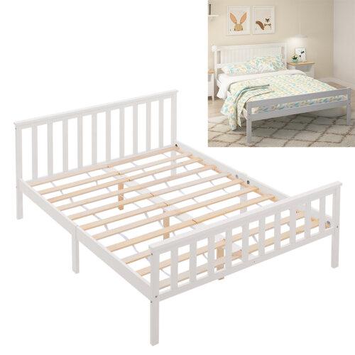 Wooden Bed Frame Pine Wood Bedstead