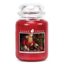 Goose Creek 24oz Large Scented 2 Wick Christmas Candle Jars Night Before Christmas