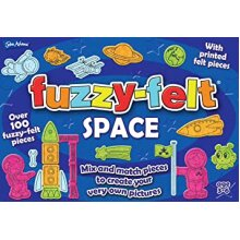Fuzzy Felt 10624 Space, Multi