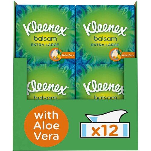 Kleenex Balsam Extra Large Facial Tissues