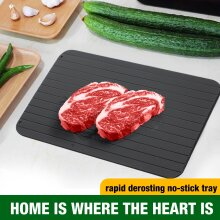 Fast Defrosting Tray Plate Kitchen Defrost Meat Frozen Food Tool