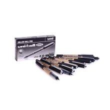 uni-ball Rollerball Pen - UB-150-10 Eye Broad - Black/Blue 12 Pack