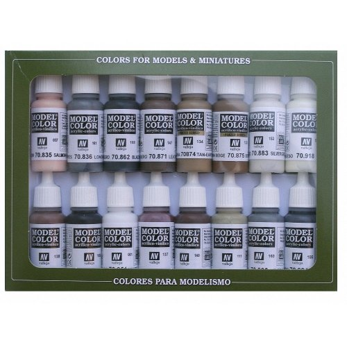 Val70144 - Av Vallejo Model Color Set - Equestrian Colors (x16)