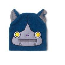 YO KAI WATCH Robonyan Novelty Cuffless Beanie with Ears, Blue (KC302488YKW) (New)