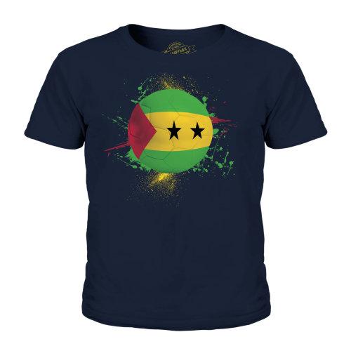 Candymix - Sao Tome E Principe Football - Unisex Kid's T-Shirt