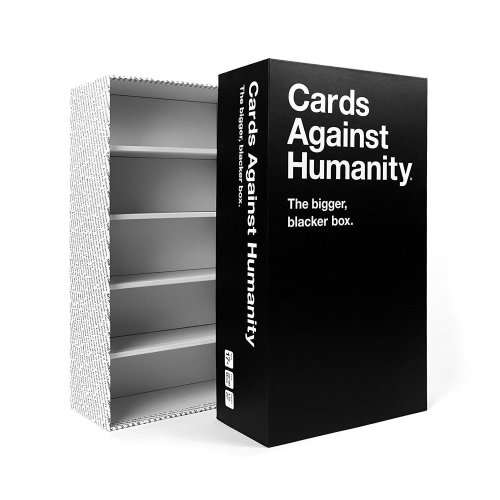 Cards Against Humanity The Bigger, Blacker Box Storage Case