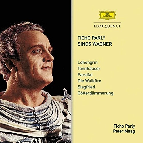 Ticho Parly Sings Wagner - Parly Ticho [CD]