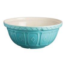 Mason Cash colour Mix Turquoise S18 Chip Resistant Earthenware 26cm Mixing Bowl