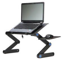 Adjustable Laptop Cooling Stand & Riser Desk