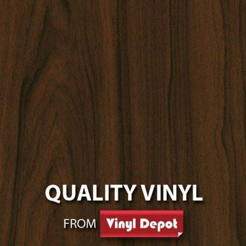 d-c-fix Sticky Decorative Self-Adhesive Wood Vinyl Fablon Walnut 675mm/m