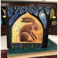Sacred Glade II Greetings card by Hannah Willow