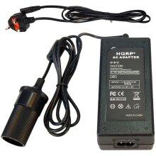 HQRP AC Adapter 220V to 12V 5Amp Converter for P-75 Koolatron Kool Kaddy 36 Quart Cooler/Warmer