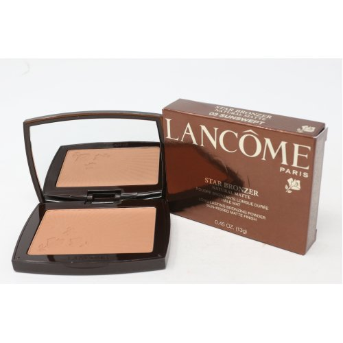 (03 Sunswept Natural Matte) Lancome Star Bronzing Powder  0.45oz/13g New With Box