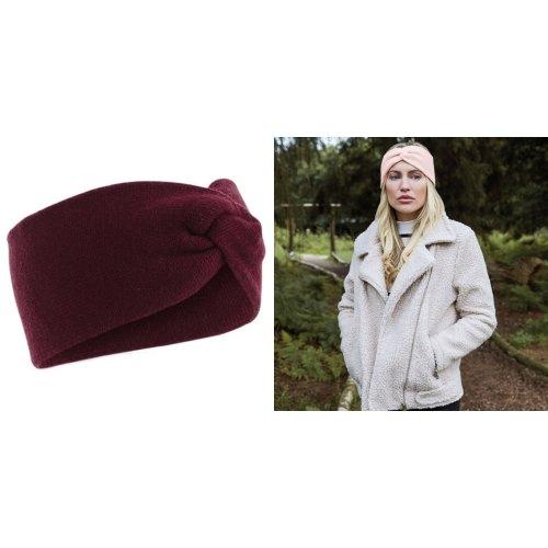 Beechfield Womens/Ladies Twist Knit Headband