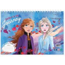 drawing book Frozen II Journey 23 x 33 cm paper