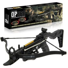 Anglo Arms OP360 80lb Self Cocking Pistol Crossbow With Extended Stock