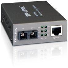 TP Link Fast Ethernet Media Converter Up to 100Mbps RJ45 to 100M Multi Mode SC Fiber MC100CM Certified Refurbished
