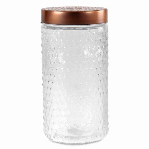 1 5l Large Glass Food Rice Pasta Flour, Flour Storage Jars Glass