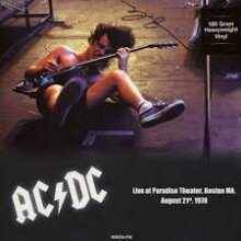 AC/DC – Paradise Theater Boston MA, August 21st 1978 Vinyl