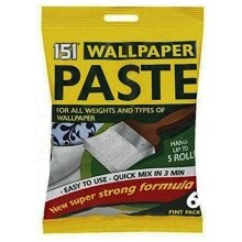 5 Roll Wallpaper Paste All Purpose Super Strong Stick Adhesive Glue