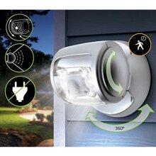 360° ROTATING WIRELESS LED MOTION SENSOR LIGHT FLOODLIGHT TECHNOLOGY