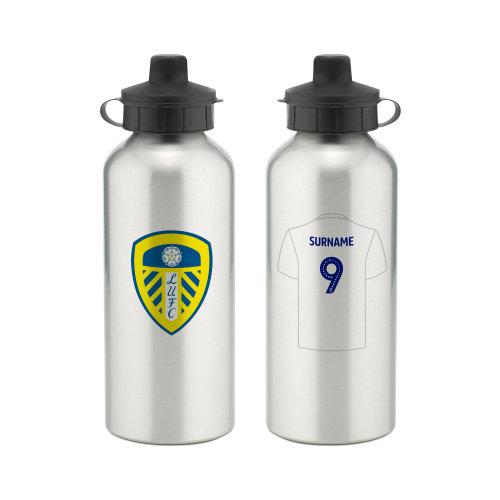Leeds United football club hip flask gift set