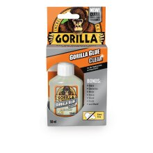 GORILLA GLUE 1244002 Clear All Purpose Adhesive, Crystal Clear