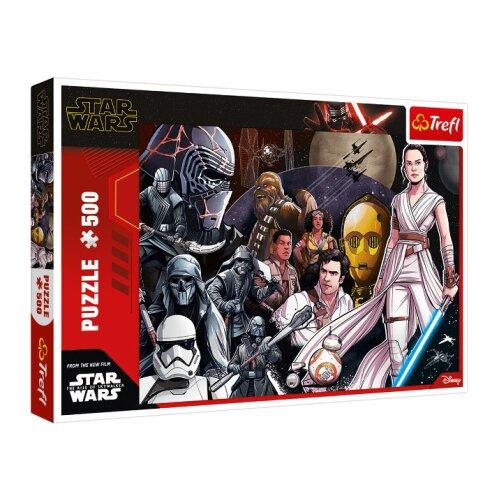 Trefl 500pc Star Wars Episode IX Long Live The Resistance Jigsaw Puzzle