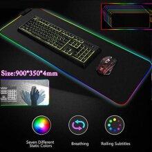 Large LED RGB Mouse Pad mouse pad USB Mice Mat