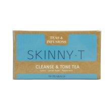 Teas & Infusions Skinnyt Cleanse & Tone Tea - 30 Teabags -senna Lemon Peppermint