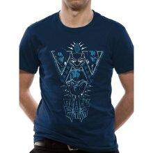 Black Panther Unisex Adults Cast Design T-Shirt