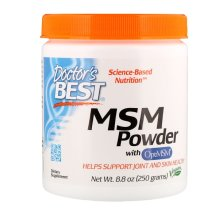 Doctor's Best, MSM Powder with OptiMSM, 8.8 oz (250 g)