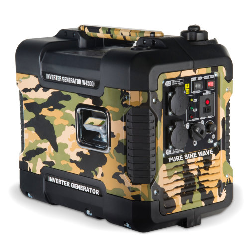 Bohmer-AG W4500i Silent Petrol Inverter Generator 1.9kW | Quiet Portable Electric Camping Power