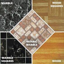 Self Adhesive Vinyl Floor Tiles 30cm x 30cm